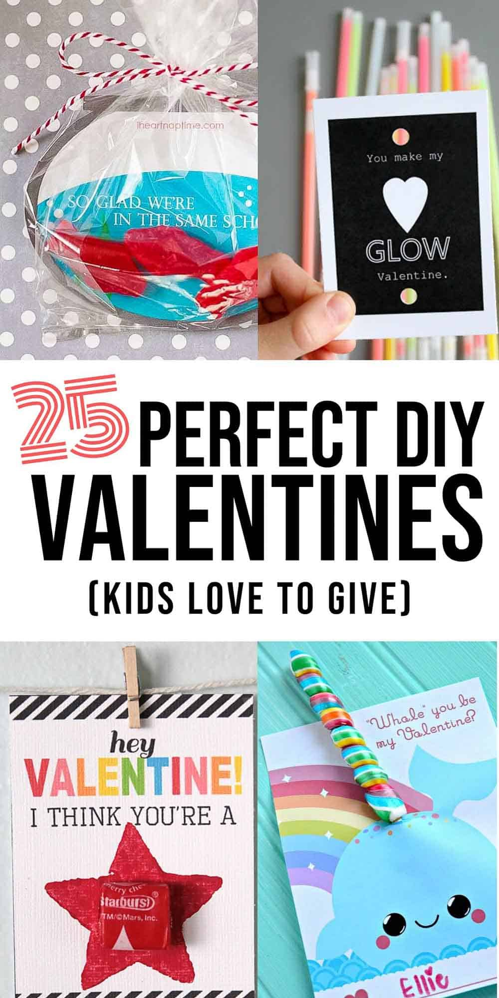 25 Perfect DIY Valentines Kids will Love graphic