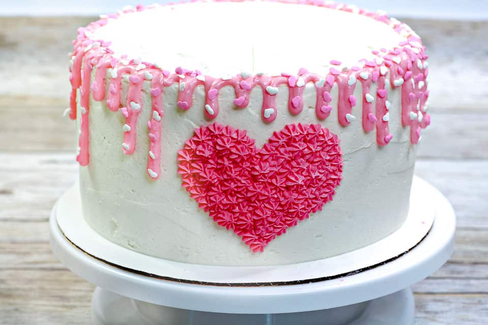How to Make Valentine's Heart Cake