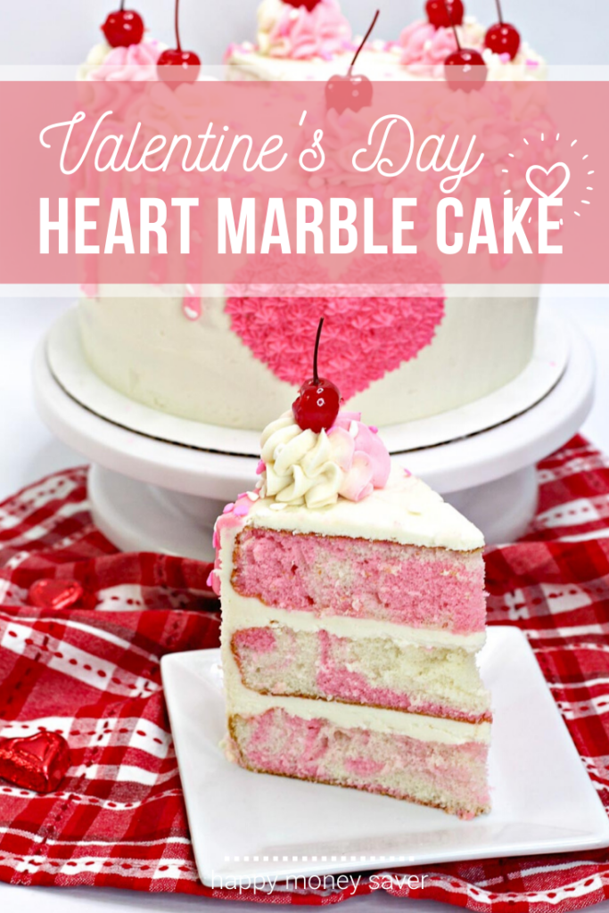 Valentine's Heart Cake Recipe