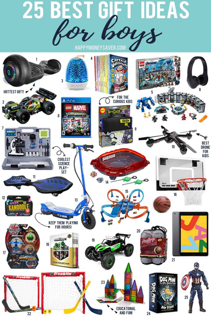 The 25 Best gifts for boys in 2020 with images of all the toys and games