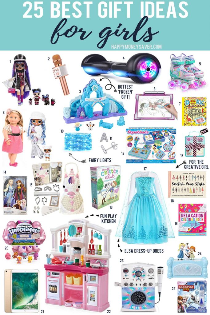 Looking for the perfect gift to give a girl on your shopping list? Look no further, here are the BEST gifts for girls in 2020!