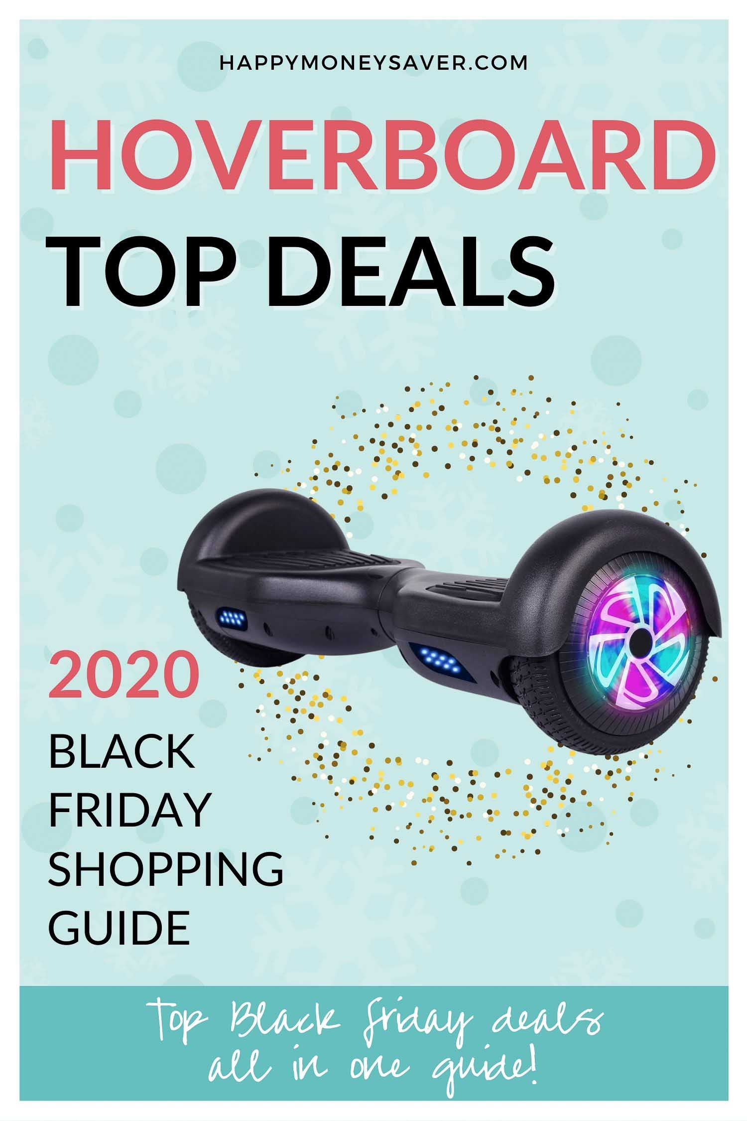 Roundup of all the Hoverboard Black Friday Sale Deals for 2020