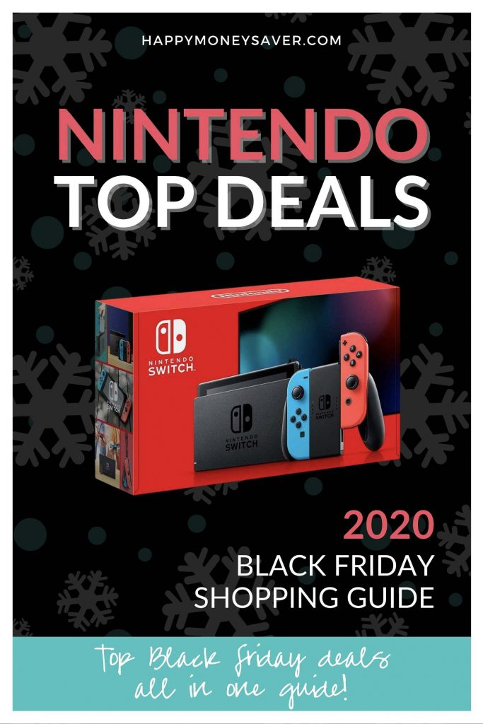 HUGE roundup of all the Nintendo Switch Black Friday deals for 2020! Nintendo Black Friday bundle deals, controllers, games + more. Research is all done for you!