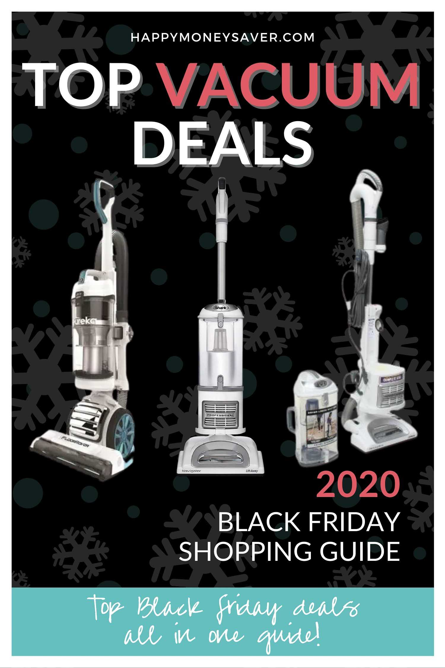 HUGE roundup of all the vacuum deals for Black Friday 2020! Black Friday Dyson deals, Robot vacuum, Hoover, Shark + more. Research is all done for you! You're gonna love this if you love saving money!