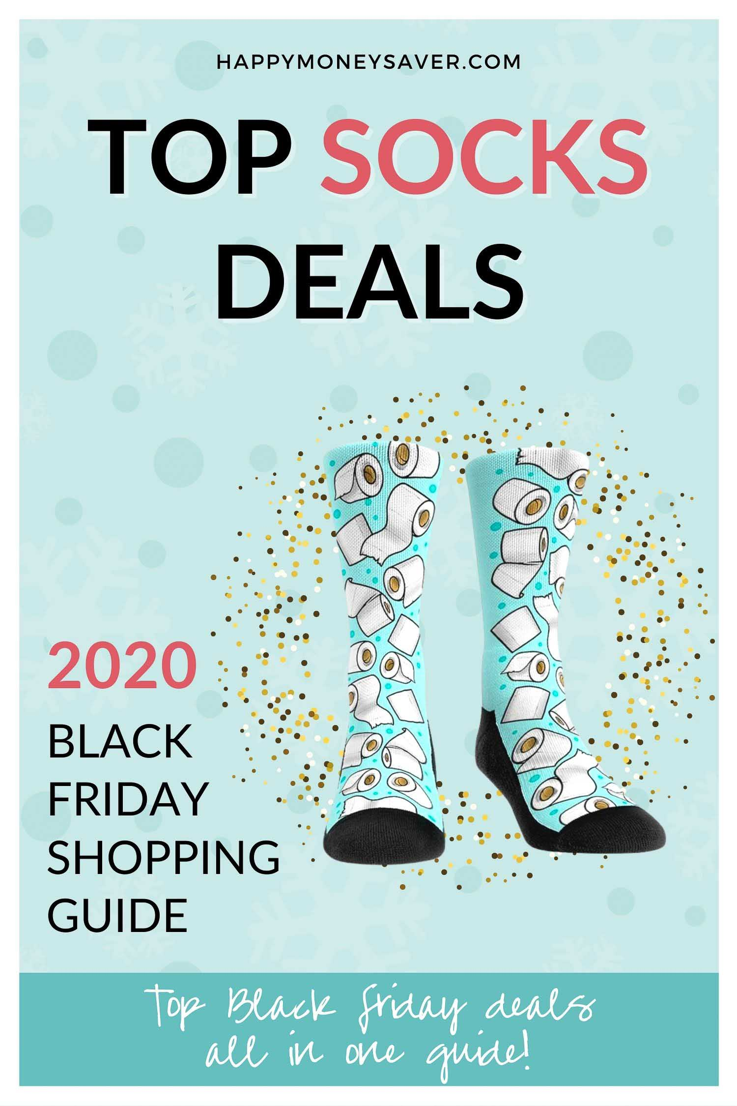 Round up of ALL the Top sock deals for black friday 2020