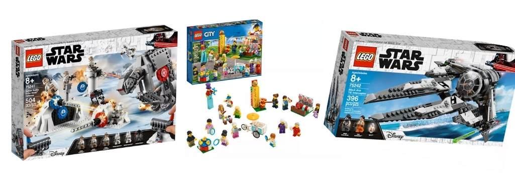 three lego starwars sets