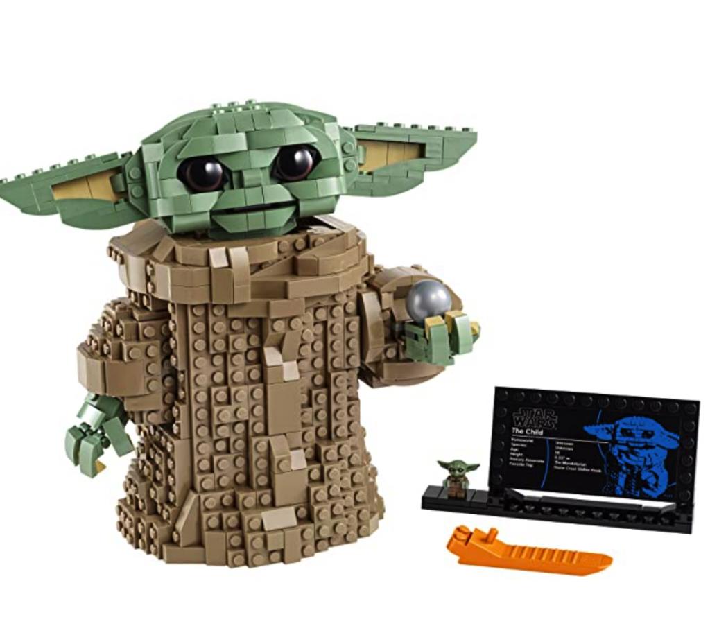 lego baby yoda set - a popular item for black friday lego deals 2020