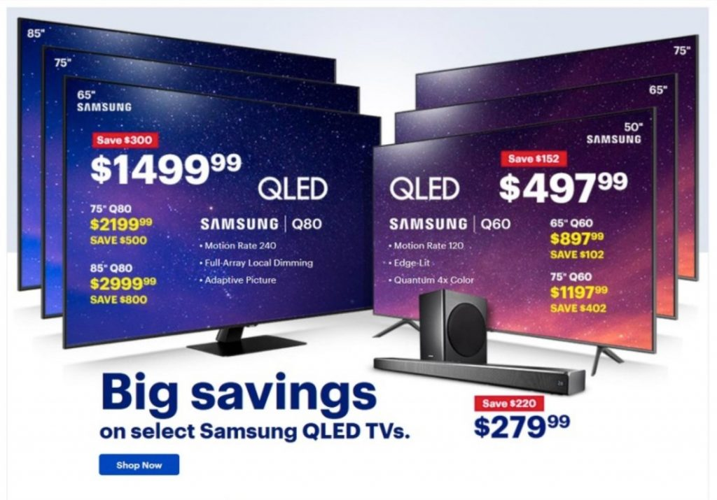 best buy black friday tv deals ad scan for 2020